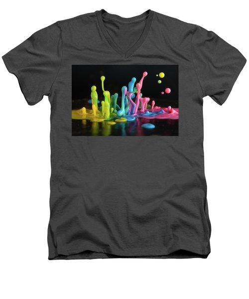 Sound Sculpture Men's V-Neck T-Shirt