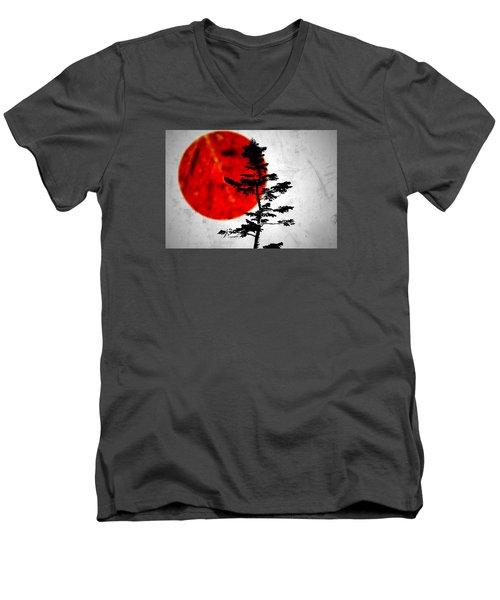 Source  Men's V-Neck T-Shirt by Mark Ross