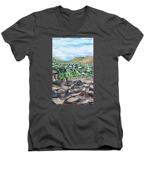 South African Coastline Part One Men's V-Neck T-Shirt