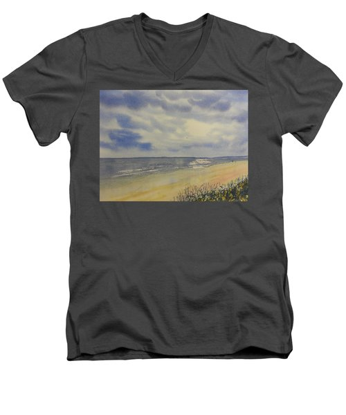 South Beach From The Dunes Men's V-Neck T-Shirt