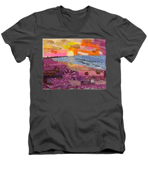 South Carolina Dawn Men's V-Neck T-Shirt