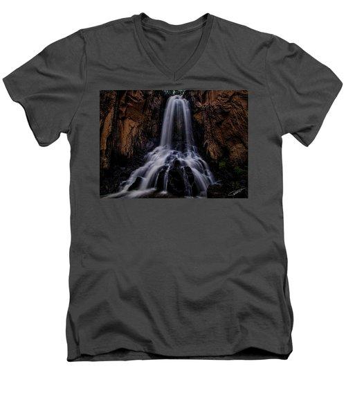 South Clear Creek Falls Men's V-Neck T-Shirt