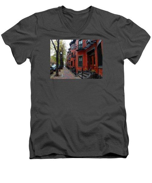 South End - Boston Men's V-Neck T-Shirt
