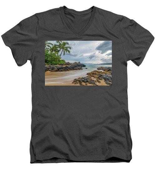 South Maui Secret Beach Men's V-Neck T-Shirt
