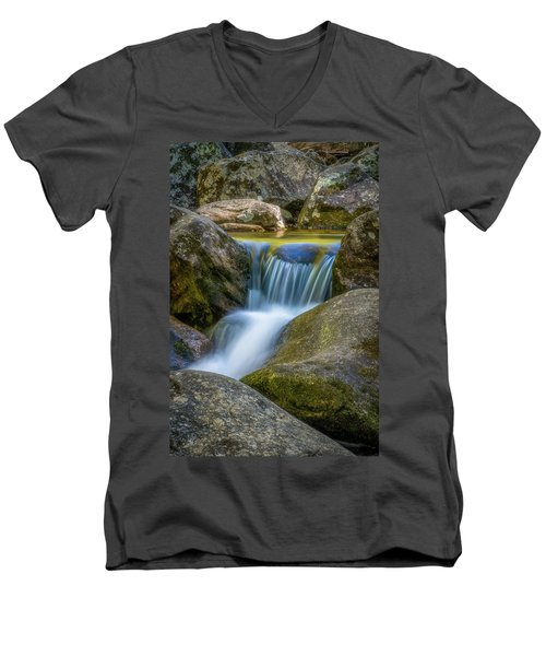 Men's V-Neck T-Shirt featuring the photograph South Mtn State Park-1 by Joye Ardyn Durham