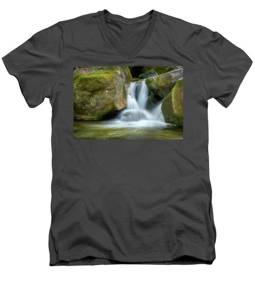 Men's V-Neck T-Shirt featuring the photograph South Mtn State Park 2 by Joye Ardyn Durham