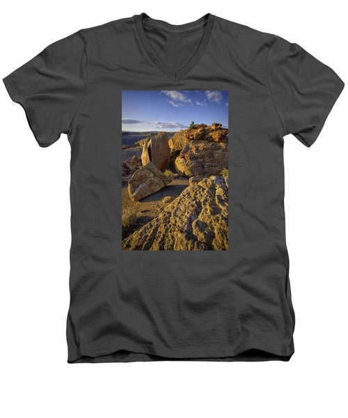 South Of Pryors 32 Men's V-Neck T-Shirt
