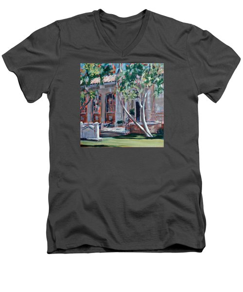 South Pasadena Library Men's V-Neck T-Shirt