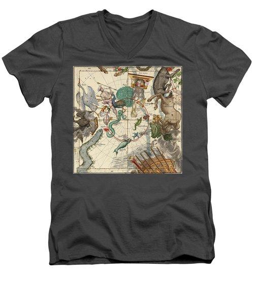 South Pole Men's V-Neck T-Shirt by Ignace-Gaston Pardies