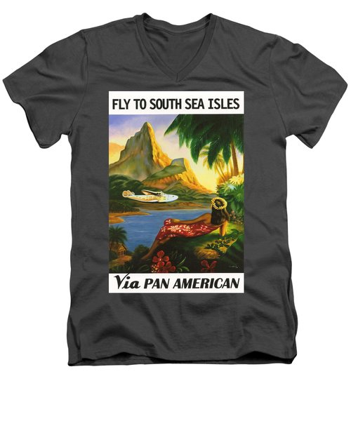 South Sea Isles Men's V-Neck T-Shirt