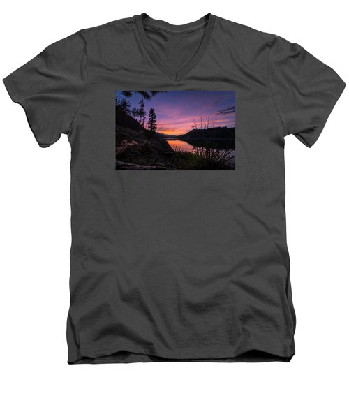 South Shore Lake Dillon Sunset Men's V-Neck T-Shirt