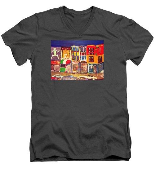South Street Men's V-Neck T-Shirt