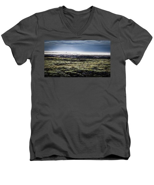 South West Iceland Men's V-Neck T-Shirt