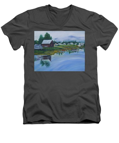 Southeast Alaska Men's V-Neck T-Shirt