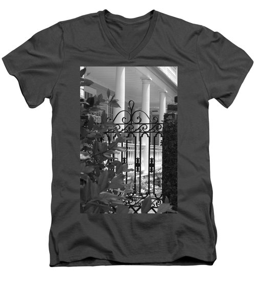 Southern Charm Men's V-Neck T-Shirt by Debbie Karnes