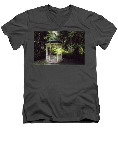 Men's V-Neck T-Shirt featuring the photograph Southern Charm by Jessica Brawley