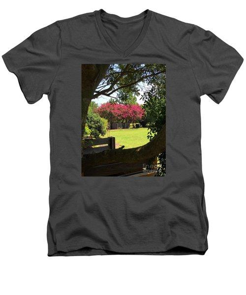Southern Radiance  Men's V-Neck T-Shirt