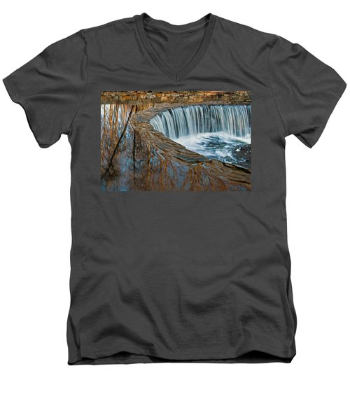 Southford Falls Men's V-Neck T-Shirt