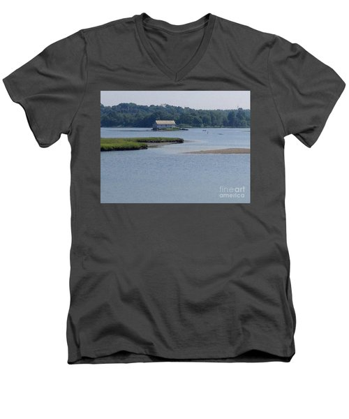 Southport View Men's V-Neck T-Shirt