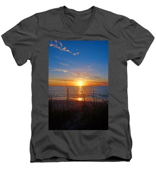 Southwest Florida Sunset Men's V-Neck T-Shirt