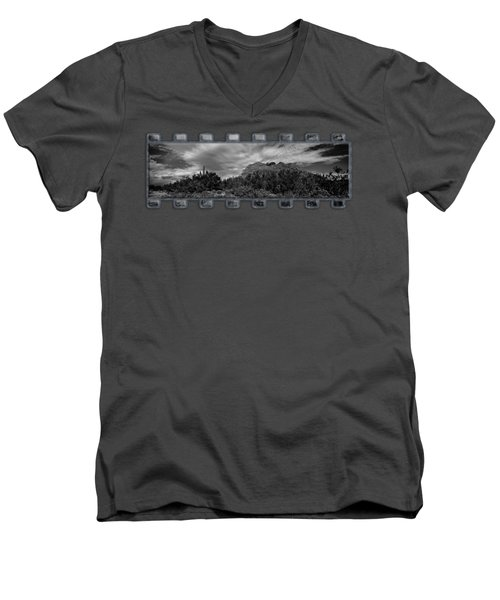 Southwest Summer P15 Men's V-Neck T-Shirt by Mark Myhaver