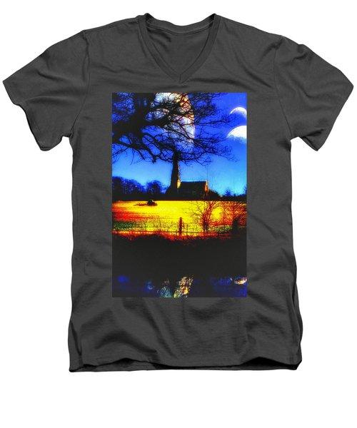 Sowing Men's V-Neck T-Shirt