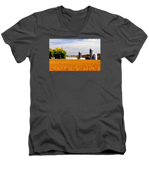Soybean Men's V-Neck T-Shirt