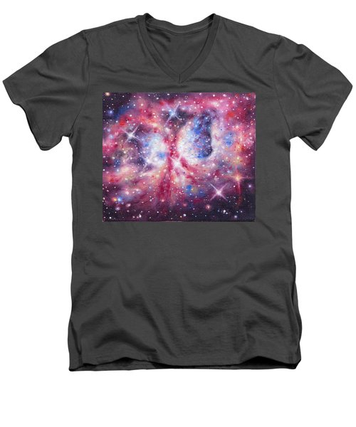 Space 2 Men's V-Neck T-Shirt