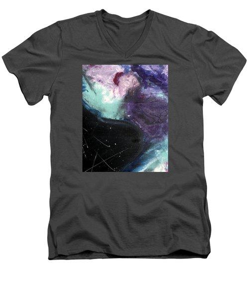 Space Invaders Men's V-Neck T-Shirt