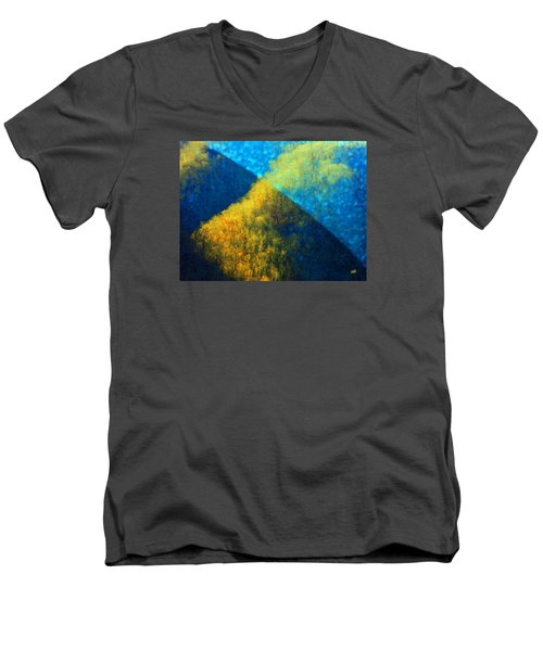 Space-time Men's V-Neck T-Shirt