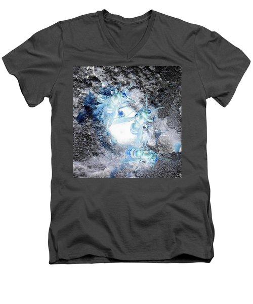 Spacious Hornets Men's V-Neck T-Shirt