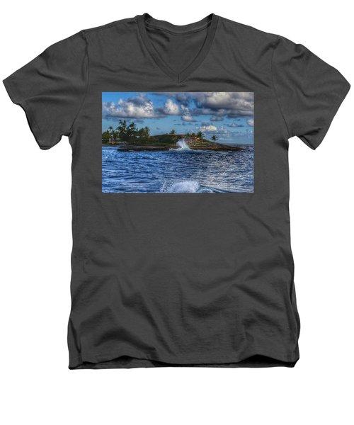 Spanish Fort  Men's V-Neck T-Shirt