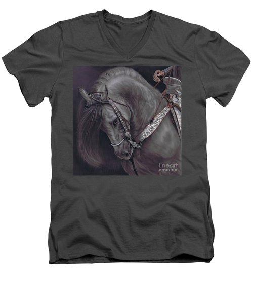 Spanish Horse Men's V-Neck T-Shirt