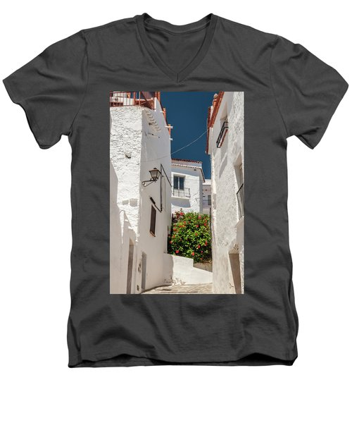 Spanish Street 2 Men's V-Neck T-Shirt