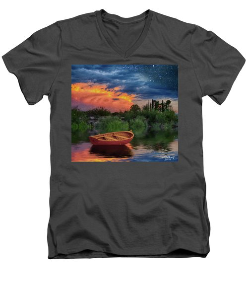 Sparkle Pond Men's V-Neck T-Shirt