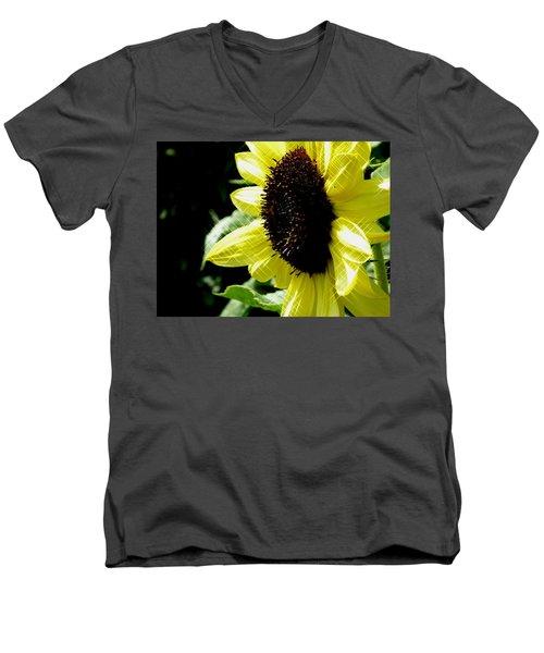 Sparkle Sunflower Men's V-Neck T-Shirt