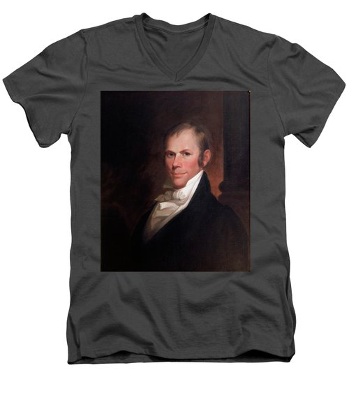 Speakers Of The United States House Of Representatives, Henry Clay, Kentucky  Men's V-Neck T-Shirt