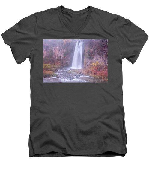 Spearfish Falls Men's V-Neck T-Shirt
