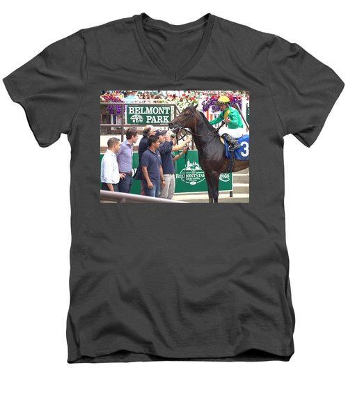 Men's V-Neck T-Shirt featuring the photograph Special Ops by  Newwwman