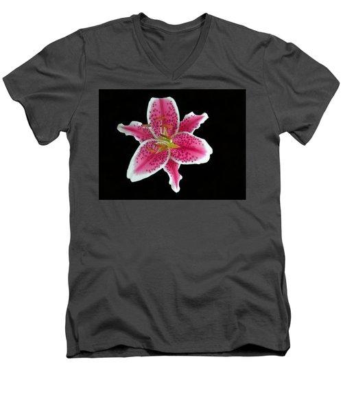 Speckles Men's V-Neck T-Shirt