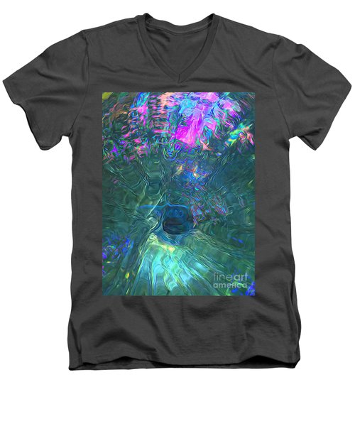 Spectral Sphere Men's V-Neck T-Shirt