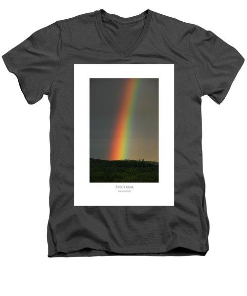 Spectrum Men's V-Neck T-Shirt