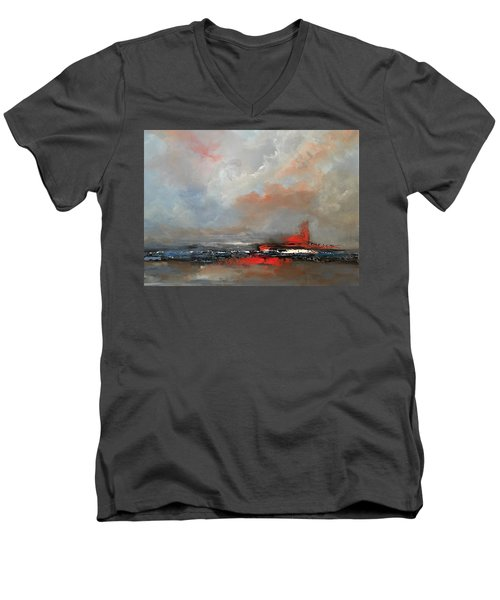 Speeding Men's V-Neck T-Shirt