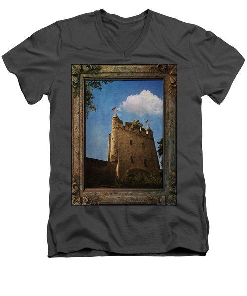 Speyer Castle Men's V-Neck T-Shirt