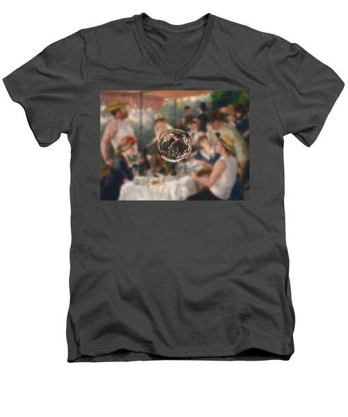 Sphere 4 Renoir Men's V-Neck T-Shirt