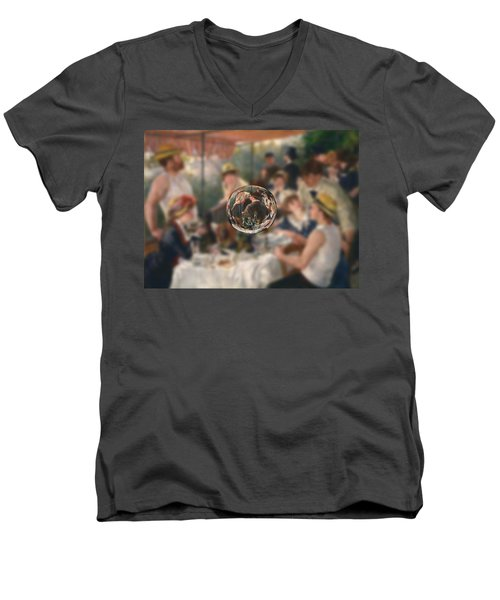 Sphere 4 Renoir Men's V-Neck T-Shirt