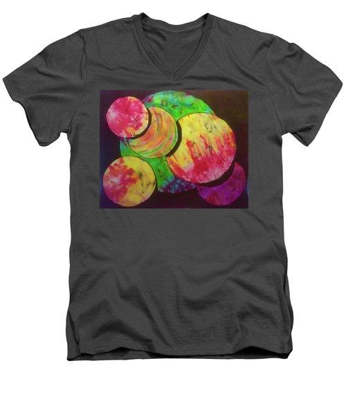 Spheres Men's V-Neck T-Shirt