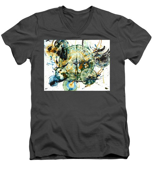 Spherical Joy Series 170.171.011011 Men's V-Neck T-Shirt