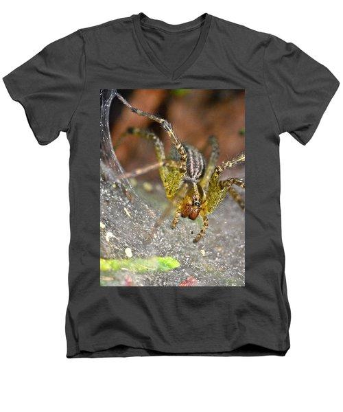 Spider Men's V-Neck T-Shirt