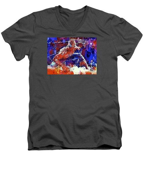 Spiderman  Men's V-Neck T-Shirt